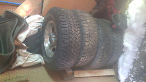 Tires and. Ford Rims 245/r16