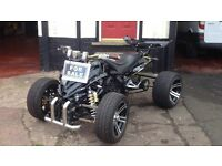 ROAD LEGAL QUAD F1 SPY 2012 12 REG 350cc REDUCED TO CLEAR ! NO OFFERS