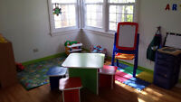 Full and part time spaces for preschoolers 2 and older