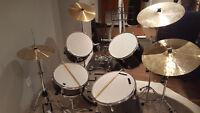 Intex Drum Kit and Cymbals