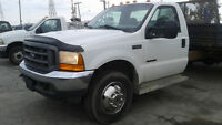 2001 FORD F-550 CAB & CHASSIS **A VOIR!!**