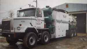Hydrovac for sale. Financing available