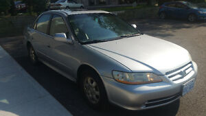 2002 Honda Accord EX Sedan With Valid E test