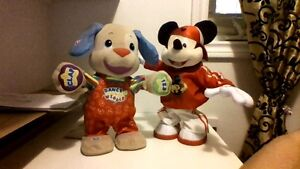 mickey mouse and dog toy trying to find a good home Cambridge Kitchener Area image 1