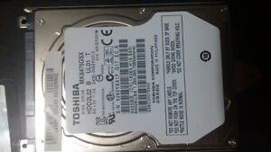 640GB Toshiba Laptop Hard drive