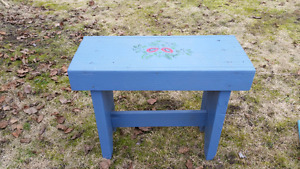 2 Benches and Stool