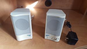 Vintage Computer speakers.