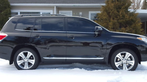 2013 Toyota Highlander  AWD Sport Leather SUV, Crossover