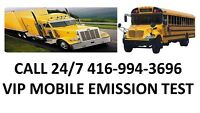 MOBILE EMISSION TEST