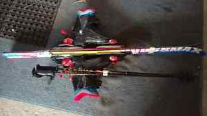 Downhill ski set youth
