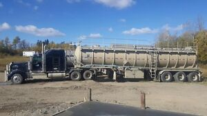 Tanker Unit ready for work