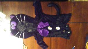 Costume d'Halloween de chat 12-18 mois