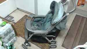 Aria peg perego stroller and car seat