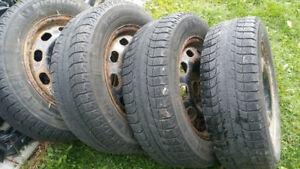 Volkswagen Golf & Jetta Michelin Snow Tires & Rims 2002