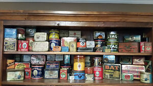 Antique tabacco tins Stratford Kitchener Area image 1