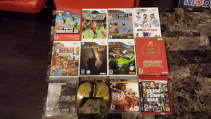 Wii and Playstation 3 Games