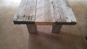 Gorgeous Weathered Wood Coffee Table