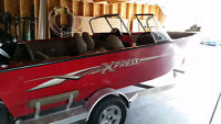 2008 17.5ft Express Boat with 115HP Suzuki Outboard and Trailer
