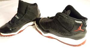 Shoes Nike. Jordan's. Kids retro 11. Size 3Y