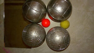 Petanque-4 OBUT balls-Moving sale
