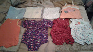 Bundled baby clothes New