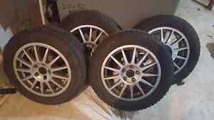 Pneus d'hiver / Winter mags with tires