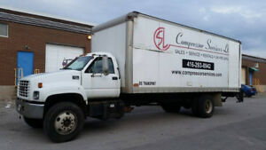 2000 GMC C7500 24 ft Truck for sale