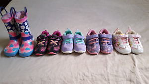 Girls Toddler Size 7 shoe lot