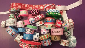 ribbon lot for hairbows