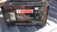 Battery Charger 6/12Volts 2/10 Amps and 75 Amp Starter Boost