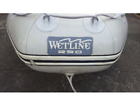 Wetline 290 inflatable