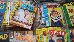 Mad magazines from the 90's - early 2005 for sale .