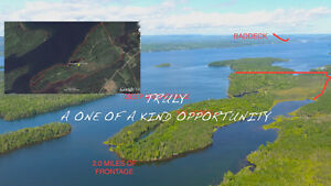 140 forested acres 3.2 kms waterfront  Cape Breton NS