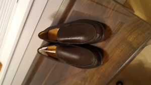 NEW Brown Men's designer COACH dress shoes (size 11.5)