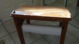 Solid wood drawing table (with roll of drawing paper)