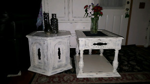 Vintage end tables REDUCED