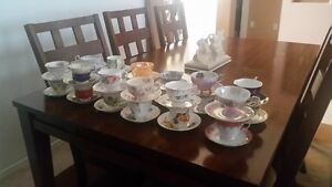various cup and saucers for sale