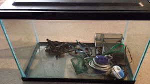 20 Gallon Fish Tank with lots of extras