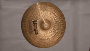 "Cymbale Ride 20"" UFIP A++ COndition Eeacreated Drum Cymbal"