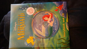 The little mermaid storybook and cd
