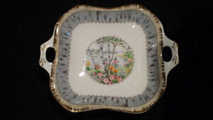 Royal Albert Silver Birch: Square and oval pickle dishes Edmonton Edmonton Area image 2