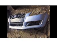 2007-2014 Audi Q7 s line front and rear bumper ltd edition