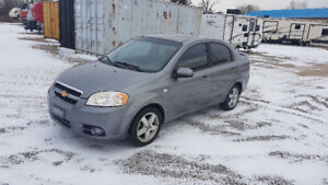 SAFTIED $2000 2007 Chey Aveo fully LOADED 195kms