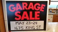 MOVING SALE - 1675 KING ST. - SACKVILLE