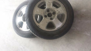 Michelin 4 Tires with Alloy Rims