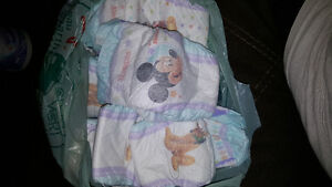 11 size 3 diapers free to go to a cute baby!!!