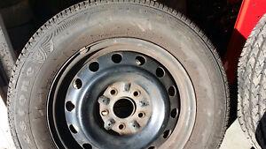 4 All Season Tires M+S on Rims Cambridge Kitchener Area image 2