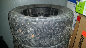 ISO 33 x 12.5 x 20 Open Country MT Tires Prince George British Columbia image 1