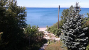 Lake Huron Beach in Kincardine