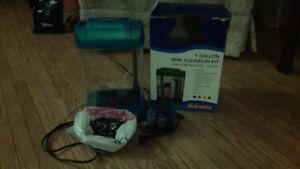 1 gallon aquarium set-up